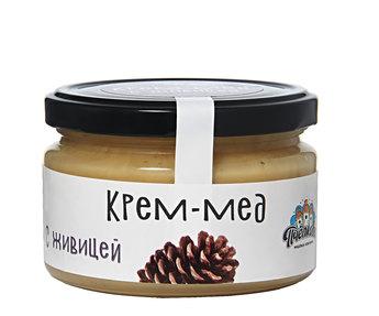 Крем мёд с живицей 300гр