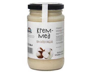 Крем мёд  хлопковый 500гр