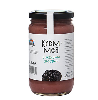 Крем мёд с лесными ягодами  500гр