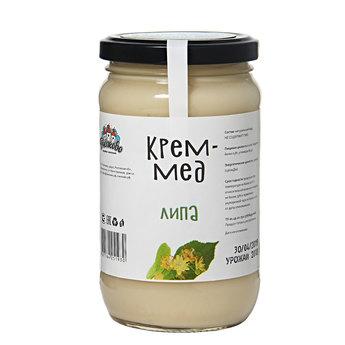 Крем мёд липовый 500гр