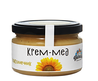 Крем мёд подсолнечник 300гр
