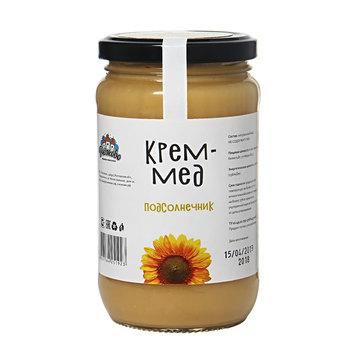 Крем мёд подсолнечник  500гр