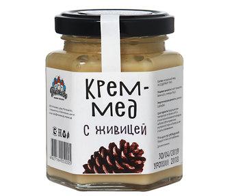 Крем мёд с живицей 250гр